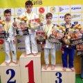 Дівчата та хлопці із Житомира вибороли 5 медалей на дитячому фестивалі дзюдо