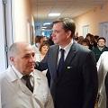 Юрій Павленко відкривав оновлене хірургічне відділення в Овручі