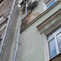 У центрі Житомира осипаються фасади.ФОТО