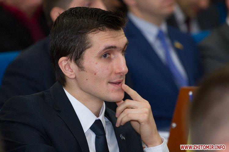 Скажений  пес атакував заступника мера Житомира Дмитра Ткачука