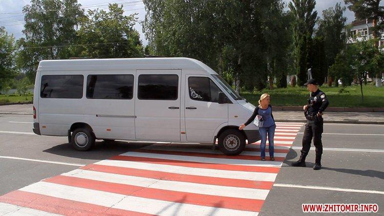 Біля житомирського водоканалу мікроавтобус на пішохідному переході збив дитину