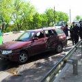 На Чуднівському мосту ВАЗівка влетіла в автомобіль «Житомиргазу»