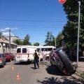 ДТП у Житомирі: жінку-водія з Toyota виймали через лобове скло. ФОТО
