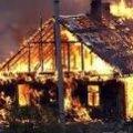 В Овручі згоріло  13 господарських будівель, а жителів 18 квартир довелося евакуювати
