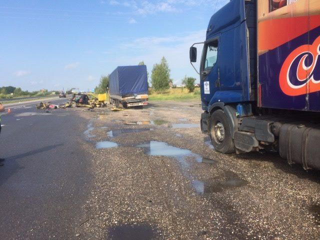 Под Житомиром водитель уснул за рулем и устроил ДТП. Его дети погибли