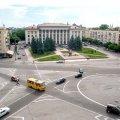 Официально: с 1 августа меняется круговое движение на площади Соборной в Житомире. ФОТО