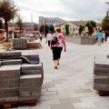 У міськраді поліція перевіряє документацію щодо реконтрукції скверу ім.О.Ольжича в Житомирі