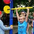 В Житомирі відкрили новий спортивний майданчик для дітей, дорослих та людей з обмеженими можливостями