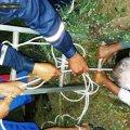 У Баранівці пенсіонер поїхав збирати яблука та впав у підземний резервуар з висоти 6 м