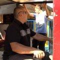 В Коростенском районе  незрячий мужчина сконструировал трактор. ФОТО