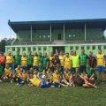 Футбольна команда житомирських будівельників блискавично обіграла суперників із рахунком 9:2
