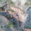 У Житомирській області селянин шукав старовинні речі, а натрапив на скелет людини