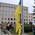 На майдані Корольова дефлімпійські чемпіони підняли Державний Прапор України. ФОТО