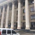 У Житомирі сьогодні замінували Будинок правосуддя на майдані Соборному
