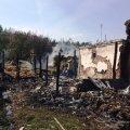 В Новоград-Волинському районі під час пожежі фахівці ДСНС врятували житловий будинок