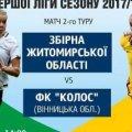 У Житомирі дівоча збірна зустрінеться на футболі з вінницькою командою