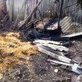 10 тонн сіна згоріло на вихідних у Новоград-Волинському районі