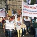 В Киеве проходит массовый митинг медиков против медреформы