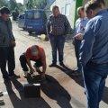 В Житомирі на об'єктах капітального ремонту вивчають властивості асфальту