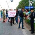 У Житомирському районі учасники АТО перекрили рух на трасі Київ-Чоп