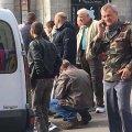 У Житомирі на перехресті Київської-Небесної Сотні автомобіль збив бабусю. ФОТО