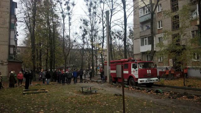 Харків у вогні, прогримів вибух. ФОТО