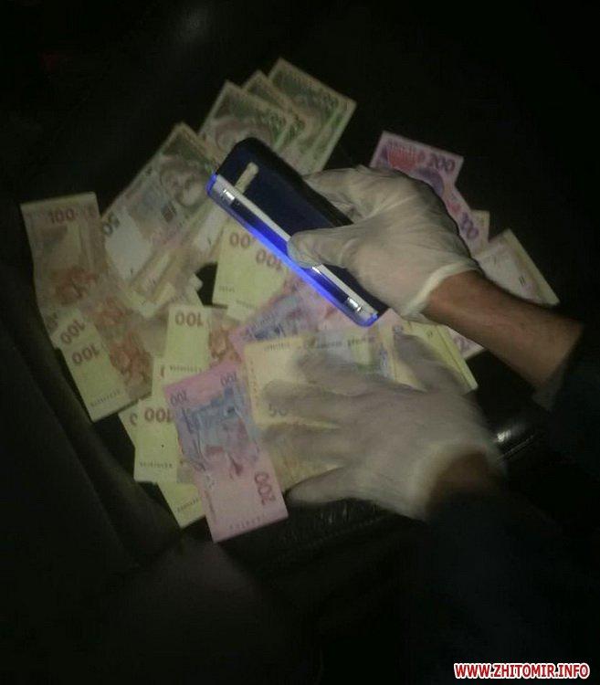 У Житомирі на хабарі у 10 тис. грн впіймали спеціаліста Держгеокадастру
