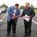 Гундич відкрив рух по відремонтованій ділянці автодороги Глибочиця - Калинівка - Станишівка. ФОТО