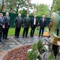 На Малинщині відкрили пам'ятник «мечу Колесова», яким висаджено 50 відсотків українських лісів