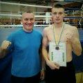 Житомирянин Фролов - срібний призер Чемпіонату України з кікбокиснгу WAKO
