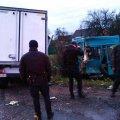 У Житомирському районі ДТП сталася за участі маршрутного автобусу. ФОТО