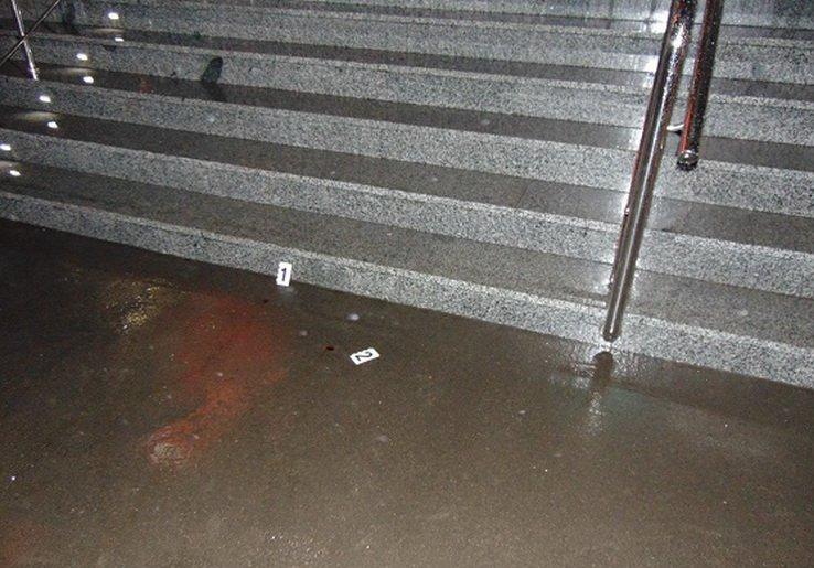 У Києві госпіталізували непритомного чоловіка, якого на вулиці вдарив житель Житомирської області