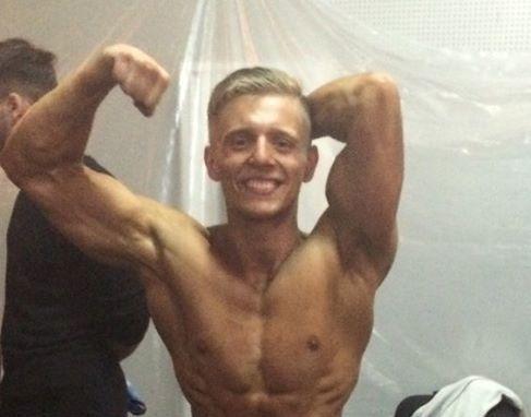 Студент з Житомира став срібним призером Чемпіонату України з бодібілдингу