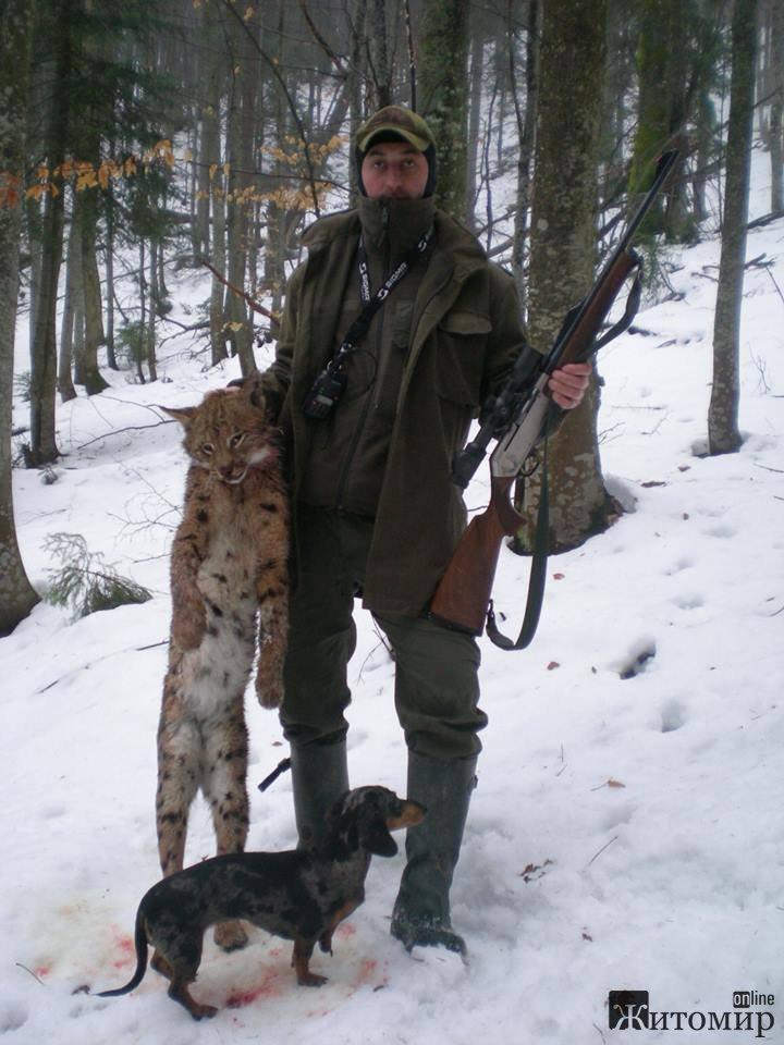 Лісничий разом із сином відстрілюють тварин, занесених до Червоної книги.ФОТО+18