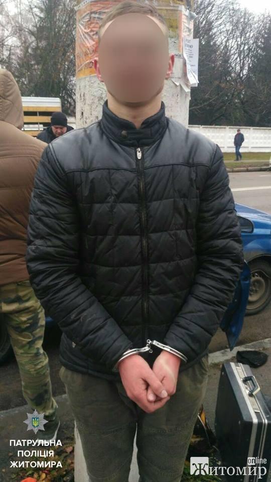 На Житомирщині патрульні затримали групу чоловіків, які ймовірно були причетні до злочинів. ФОТО