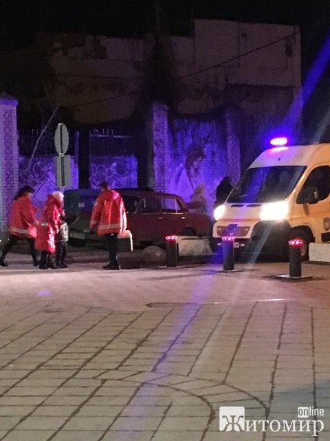 Перші жертви пішохідної вулиці Михайлівської!