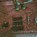 В Овручі військовий у своєму будинку зберігав гранати