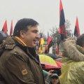 По центру Киева прошел марш за импичмент Порошенко. Как это было