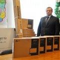 У Житомирську ОДА надійшла допомога від Польщі - 17 ноутбуків та техніка для презентацій на півмільйона