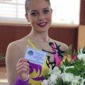 Житомирянка Олександра Мохорт отримала звання майстра спорту України міжнародного класу зі спортивної аеробіки
