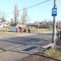 В Житомирі авто протаранило зупинку і наїхало на людей, серед постраждалих є дитина