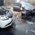 """Лобове зіткнення """"Renault"""" і """"Toyota"""" на Житомирщині: загиблі пасажири і травмовані водії"""