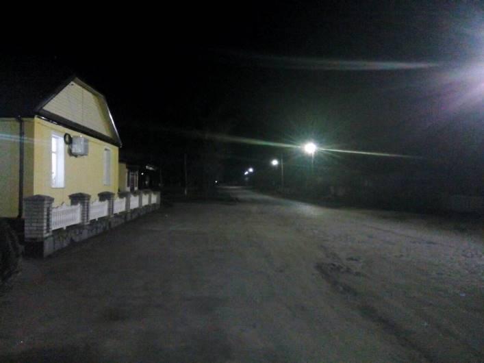 Високівська ОТГ на Житомирщині – перша громада зі світлодіодним освітленням