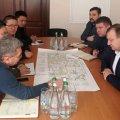 Керівники житомирського автодору зустрілися із китайськими будівельниками, які реставруватимуть північний об'їзний міст