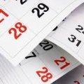 Уряд затвердив святкові та вихідні дні у 2018 році