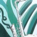 З подвір'я Житомирського коледжу культури та мистецтв невідомі вкрали пам'ятник саксофону