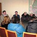 Возмущенные скачком цен на маршрутки жители пригородов Житомира пришли в кабинет к Гундичу. ФОТО