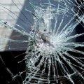 У Житомирі поліція охорони викрили молодика, який пошкодив вітрину у магазині