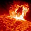 Из-за мощной вспышки на Солнце Землю накроет магнитная буря