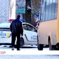 В Житомире водитель маршрутки умер за рулем автобуса. ВИДЕО